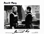 Bernard Kay  & Morris Perry DOCTOR WHO Genuine Signed Autograph 10 x 8 COA 477